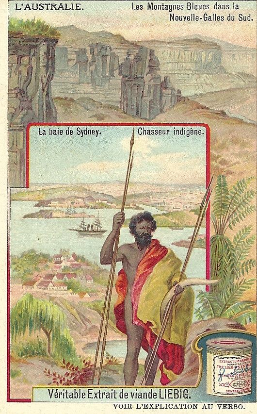 A Liebig Trade card from the L'Australie series