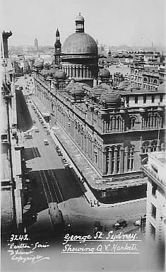 No 3242 Study of QVB and George St