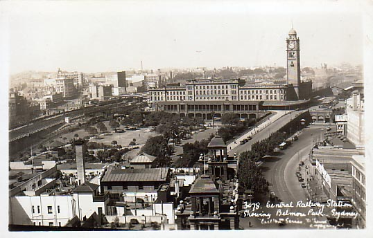 Rooftop view from southern edge of city c1929. Carlton series.