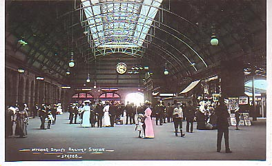 Central Railway Station - the main concourse.