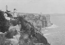 Star Series view of the Harbour entrance and cliffs c1909