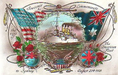 1908 US Fleet Visit