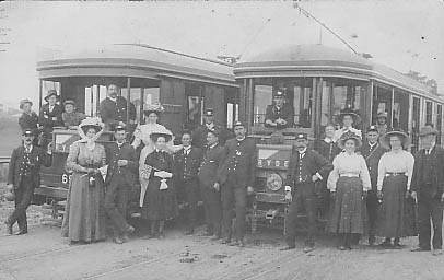 Ryde Opening Day 1910