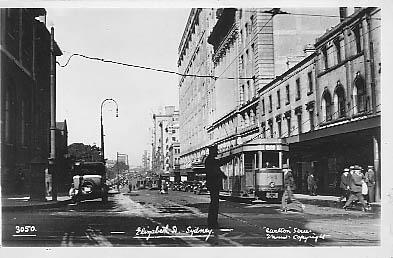 Elizabeth St City c 1935
